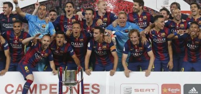 Барселона взе купата, направи златен дубъл