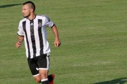 Божинов игра при победа на Партизан