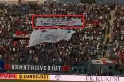 Бесни фенове прекратиха мач в Албания