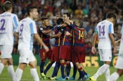 Малага измъчи Барселона