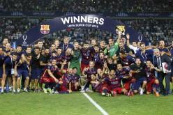 Барселона със Суперкупата на Европа след луд мач в Тбилиси