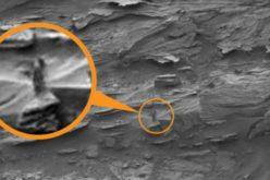 Заснеха на Марс тайнствена фигура на жена