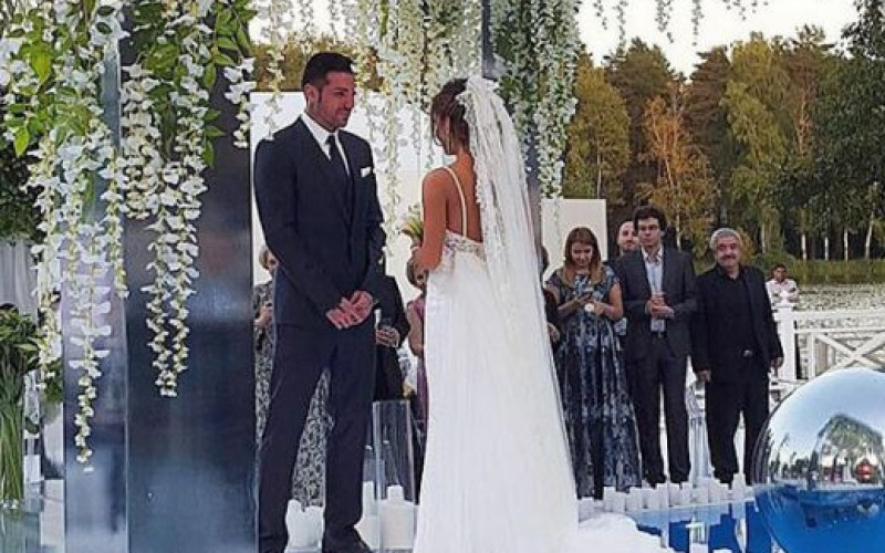 Благой Георгиев се ожени за рускинята Есмер