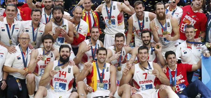Испания спечели европейската титла по баскетбол