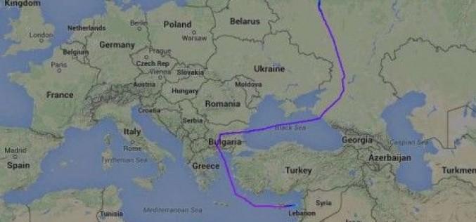 Руски военен самолет два пъти прелетя над България