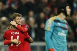 Байерн се изгаври с Арсенал