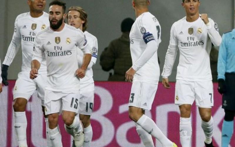Реал (Мадрид) потрепери доста срещу Шахтьор (ВИДЕО)