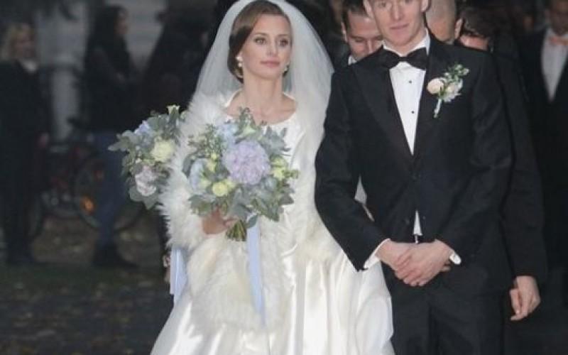 Прохазка събра 120 гости на сватбата си