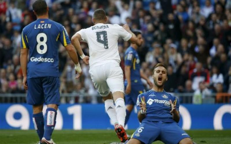 """Реал (Мадрид) сложи """"четворка"""" на Хетафе (ВИДЕО)"""