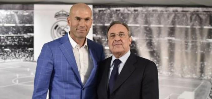 Зизу е първият французин, начело на Реал (Мадрид)