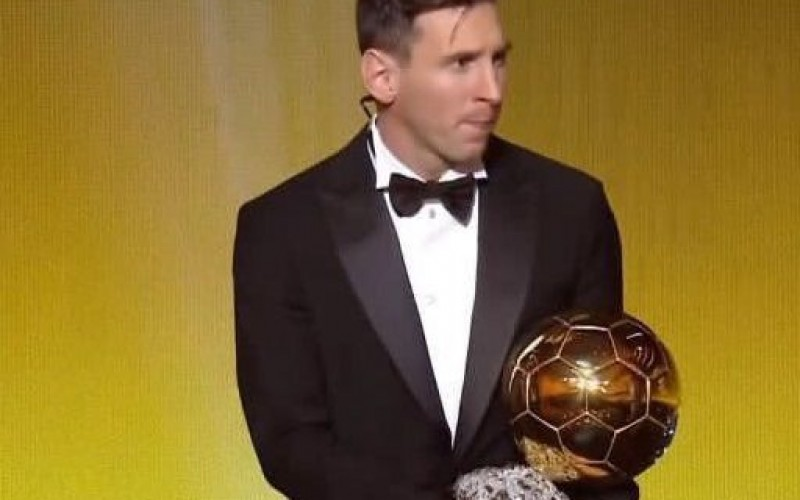 "Лео Меси грабна пета ""Златна топка"""