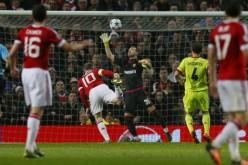 Рууни спаси Юнайтед с исторически гол (ВИДЕО)