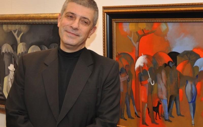 "Художникът Владо Пенев на 60? Невероятно, но факт в галерия ""Нюанс"""