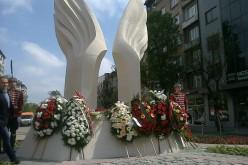 Столицата вече си има паметник на героите, загинали за свободата на Македония и Одринска Тракия (СНИМКИ)