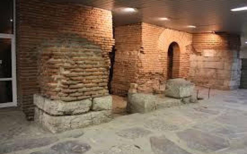 Теч в Античния комплекс Сердика