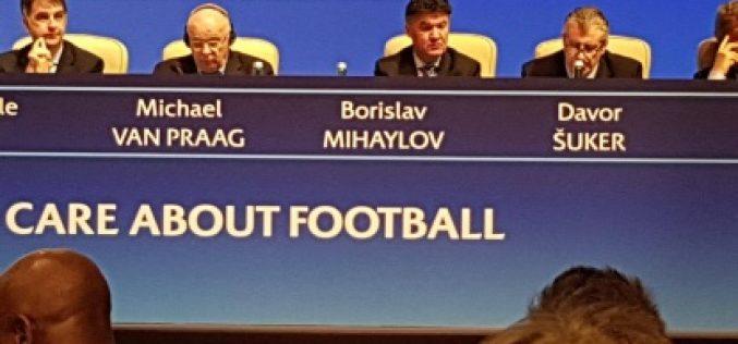 Борислав Михайлов взе участие в конгреса на УЕФА