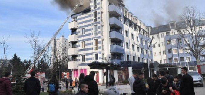 Пламна пожар в хотел с юноши на ЦСКА-София (ВИДЕО)