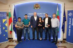 Наградиха медалистите в щангистите от Букурещ