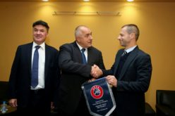 Президентът на УЕФА Александър Чеферин прие поканата на министър Кралев