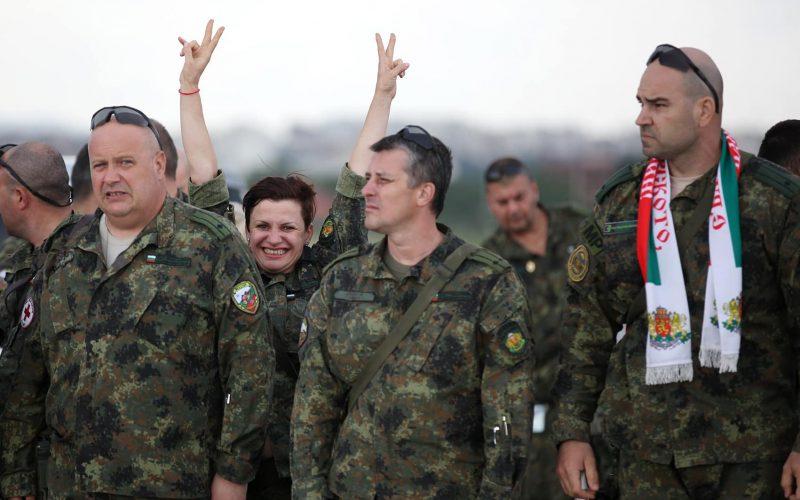 Екип на ВМА се завърна след успешна мисия в Афганистан