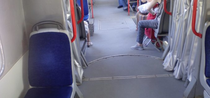Чуден трамвай се носи из София. Кой го измисли? (СНИМКИ)
