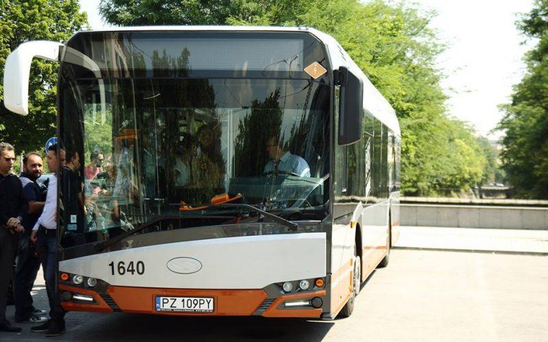 Тестваха първият автобус хибрид (СНИМКИ)