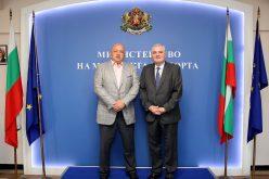 Кралев обсъди с посланика на Аржентина предстоящите в Буенос Айрес Младежки олимпийски игри