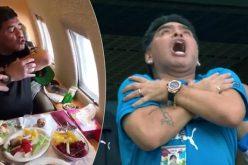 Марадона с нова изцепка! Пиян или дрогиран? (ВИДЕО)