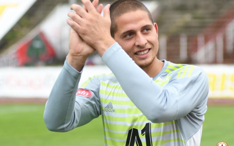 ЦСКА се раздели с млад вратар, прати го под наем