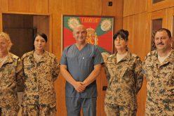 Грамота за медиците ни след успешна мисия в Мали