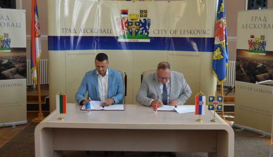Град Елин Пелин се побратими със сръбския Лесковац