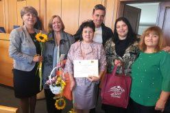 """Награда за 90 ДГ """"Веса Паспалеева"""" от Столичния съвет по безопасност на движението"""