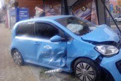 Зрелищна катастрофа в центъра на София! Вижте какво остана от колата (СНИМКИ)