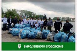 """ВМРО – София продължава кампанията """"Зеленото е родолюбие"""""""