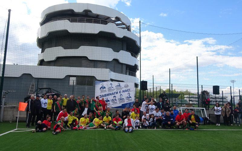 """Големи личности почетоха """"Небесните ментори"""" на футбола, победител беше приятелството (СНИМКИ)"""