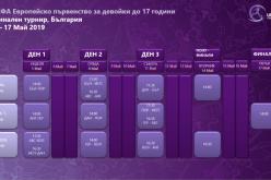Програмата за ЕВРО 2019 в България бе финализирана