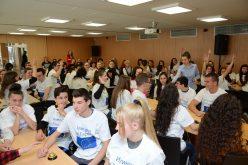 """60 ученици от 6 столични района се включиха във викторината """"Заедно за Европа"""" (СНИМКИ)"""