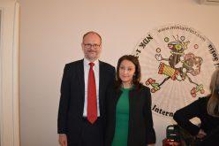 """Датският посланик се срещна със зам.кмета на район """"Надежда"""""""
