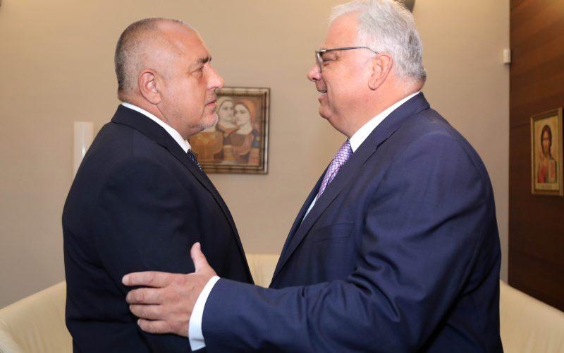 Премиерът Борисов се срещна с шефа на световната борба