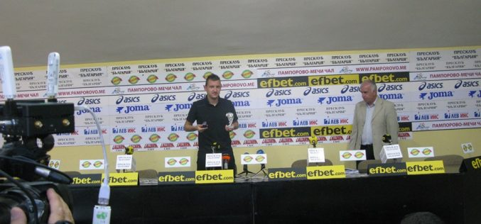 Тодор Неделев хвали треньора на Ботев (Пд)