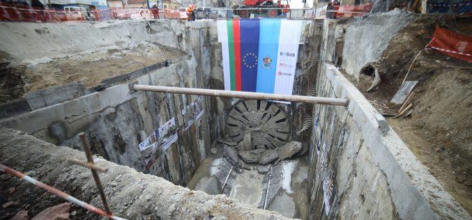 7 км от тунелите на третия лъч на метрото са готови (ВИДЕО)
