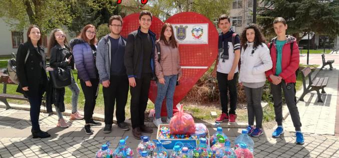 470 кг. платмаса събра гр. Елин Пелин в благотворителна кампания
