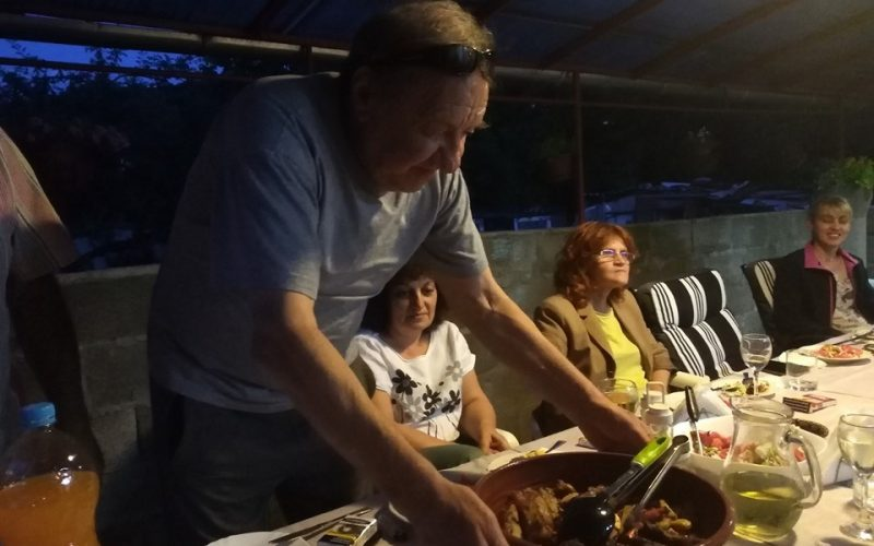 На гости на проф. Владайски! Вкусно и весело (СНИМКИ)