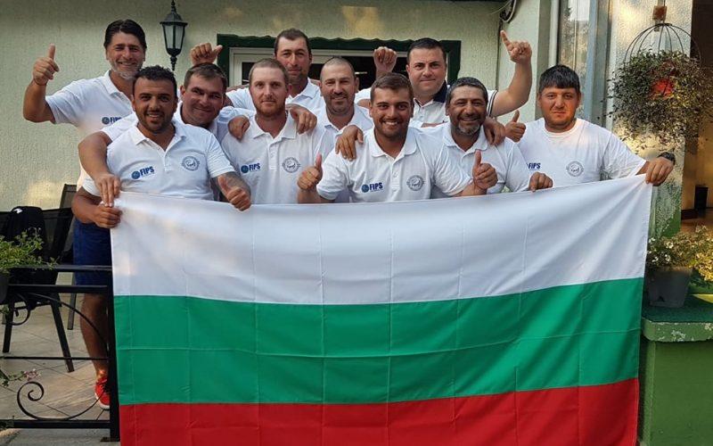 България в топ 10 на световното първенство по риболов