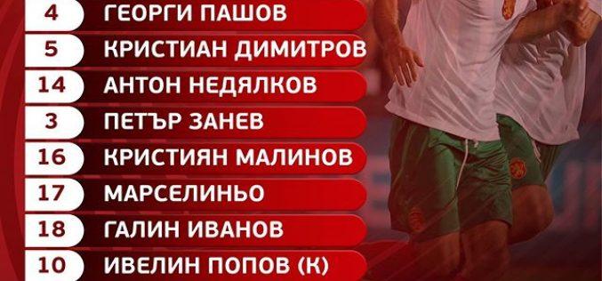 Ето ги титулярите срещу Черна гора!