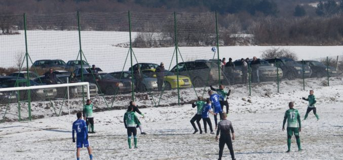 Студът отложи последното дерби за годината в Четвърта лига