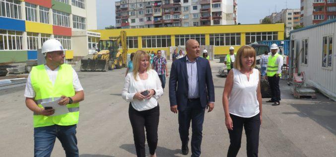 """Фандъкова: Няма да подновим концесията на """"Софийска вода"""""""