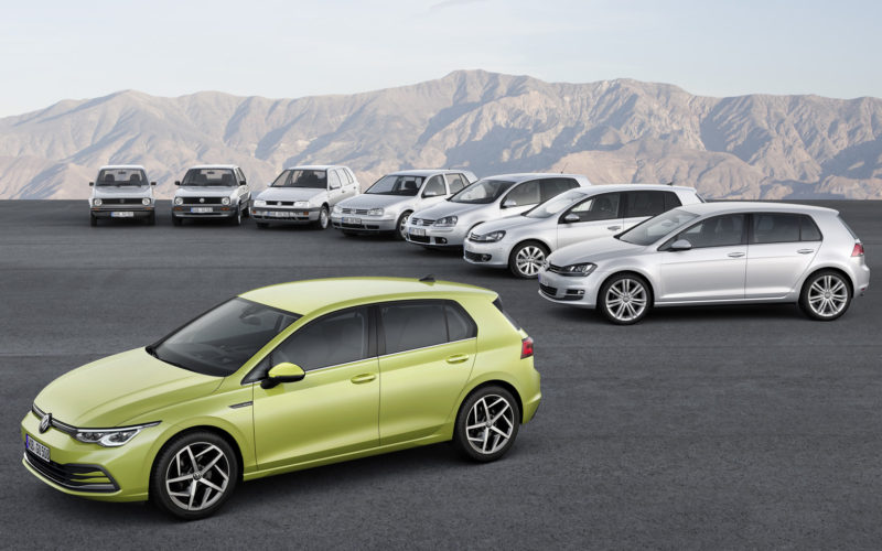 VW Golf 8 – глътка радост за перничани