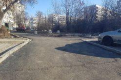 """Район """"Надежда"""" се похвали с нов паркинг"""