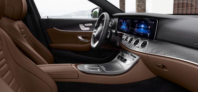 Повече динамика в новия Mercedes-Benz Е-класа (СНИМКИ)